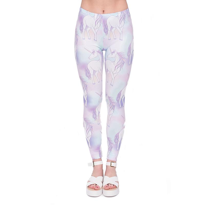 6a8d62977a Girls Leggings Unicorn 3D Graphic Print Women Skinny Stretchy Full Length  Yoga Pants Lady Capris Colorful Pattern Fitness Trousers J45537 Leggings 3D  Print ...