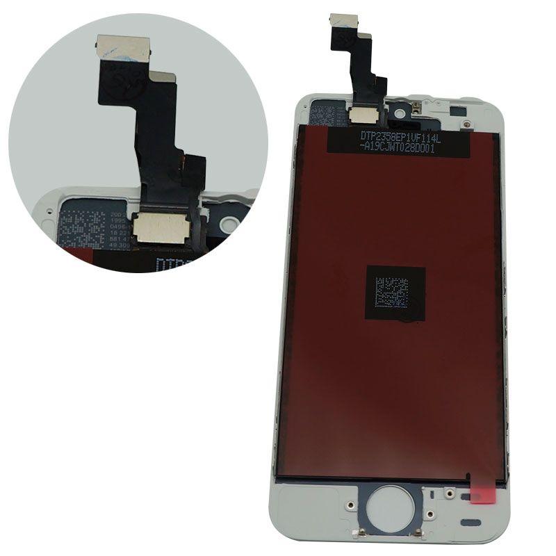 Hohe Qualität für iPhone 5S SE LCD kompatibel für iPhone SE LCD Touchscreen Digitizer Assembly Schwarz und Weiß Farbe Perfekte Verpackung