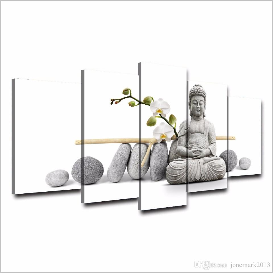 Framed HD Printed Stone Buddha Painting Canvas Print room decor print poster picture canvas /ny-3058