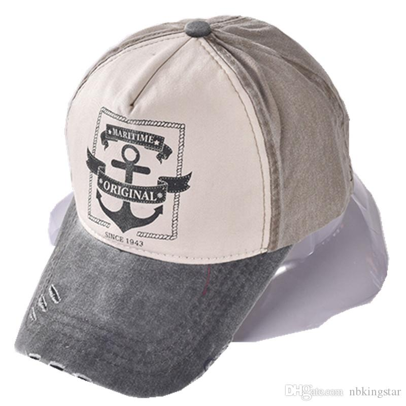 Pirate Ships Anchor Printing Baseball Cap Multicolor Vintage Hat Washed  Canvas Caps Adjustable Hip Hop Hats For Men And Women Compton Cap Baseball  Caps For ... c7567bf158b8