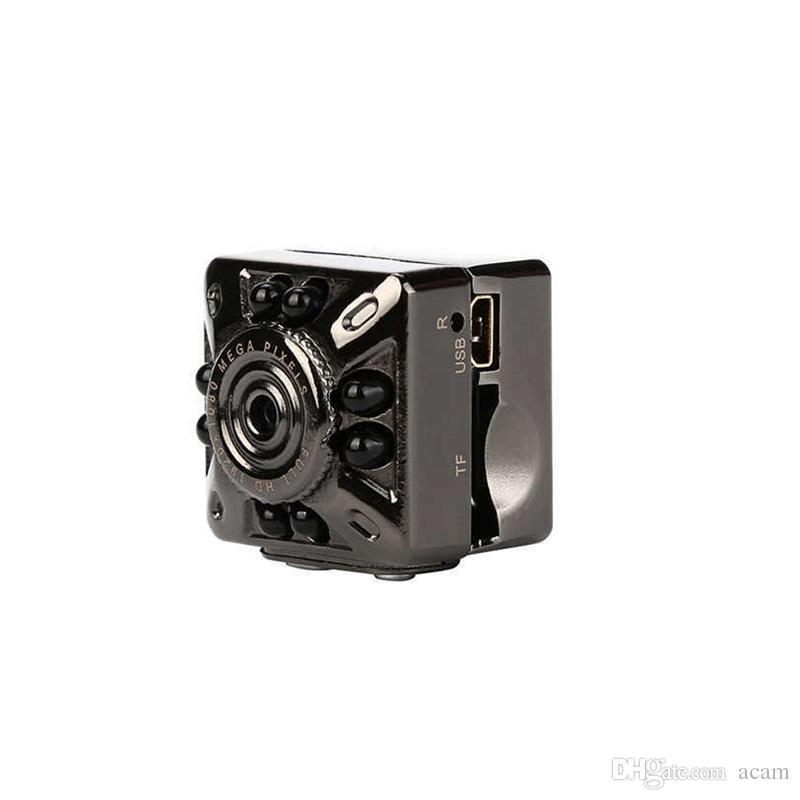 SQ10 Mini Kamera HD 1080 P / 720 P 12MP Infrarot Nachtsicht Digitale Micro Cam Bewegungserkennung Tragbare Camcorder Video Recorder