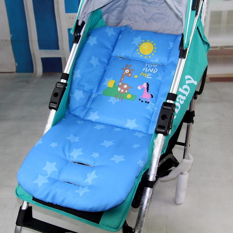 2018 Wholesale Cartoon Pushchair Baby Infant Stroller Seat Cushion Cotton Mat Car Padding Pram Liner Chair From Wonderfulss