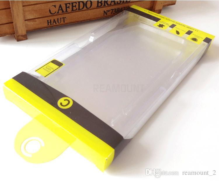Caso di telefono cellulare nuovo stile all'ingrosso Google Pixel XL Pacchetto Scatola di imballaggio in pvc di imballaggio in plastica iPhone 7 7 Plus