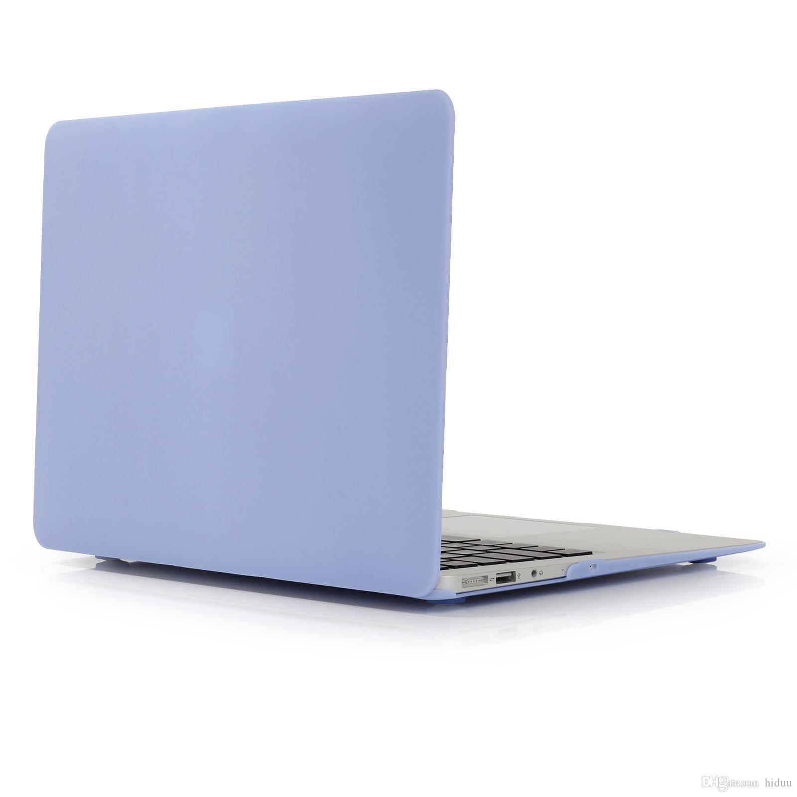 Custodia rigida in plastica morbida con rivestimento in gomma opaca con cover tastiera MacBook Air modello 13 pollici A1369 e A1466