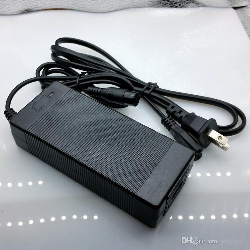2A 67.2V cargador para 16S batería de litio 67.2V cargador de cargador monociclo eléctrico XLRF Envío gratis