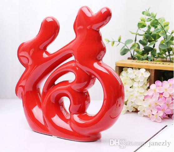 2017 Chinese Simple Word Meaning Ceramic Decorative Art Crafts Fu Home Furnishing Living Room Feng Shui Ornaments1 From Janezly 236