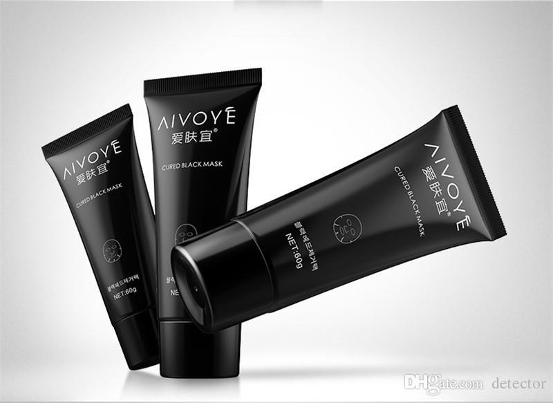 AFY 24 k Salyangoz emme Siyah maske derin temizlik yüz yüz maskesi Siyah Nokta makyaj Akne sökücü siyah çamur maskeleri Güzellik makyaj