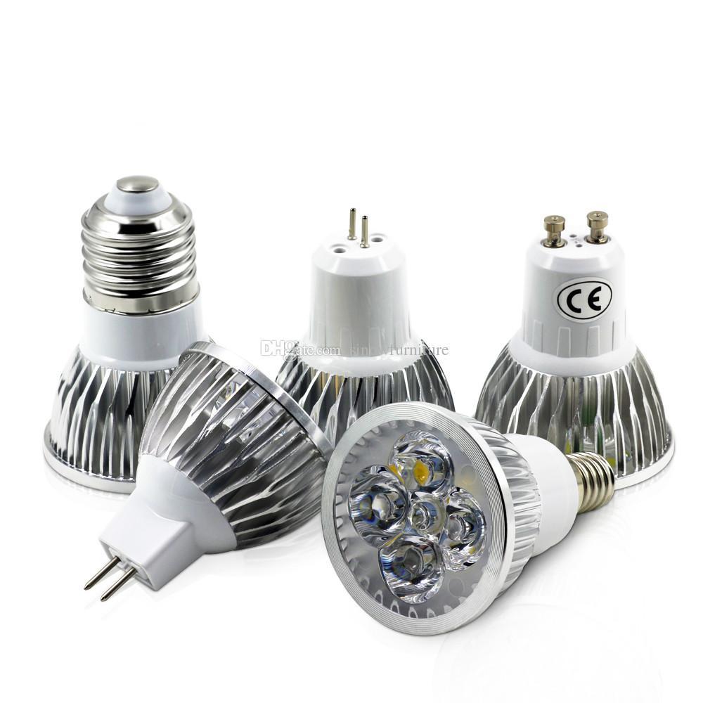 High Power 5w Gu10 Gu5.3 E27 E14 Mr16 Led Spotlight Energy Saving ...
