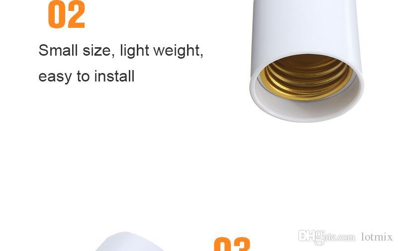 نوعية ممتازة G23 إلى E27 قاعدة المقبس CFL LED الهالوجين ضوء لمبة مصباح محول حامل محول 110-240V