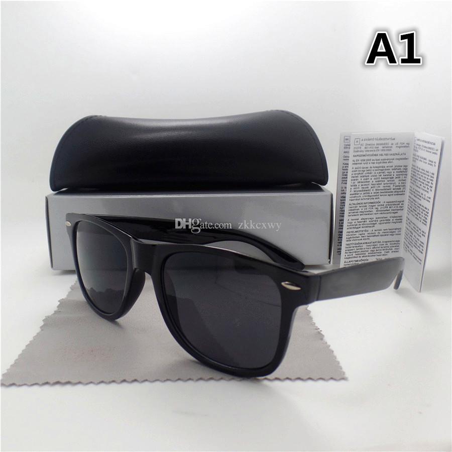 Yüksek Kaliteli Moda Erkek Kadın Güneş Gözlüğü UV400 Spor Vintage Güneş Gözlükleri Retro Gözlük Kutusu Ile