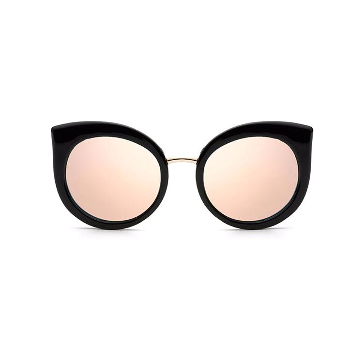 f523443f11 Classic Vintage Cat Eye Rose Gold Mirror Women Stylish Sunglasses Fashion  Brand Designer Retro Sun Glasses Lady Round Glasses Designer Glasses From  ...