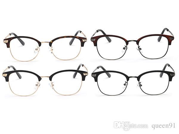 Women Men Vintage Design Eyeglasses Frame Tr90 And Metal Material ...