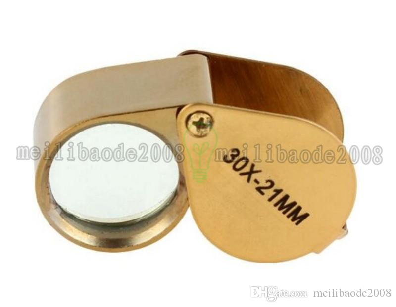 NEW Golden Triplet Eye Magnifier Power 30X-21mm Jeweler's Loupe FREE SHIPPING MYY