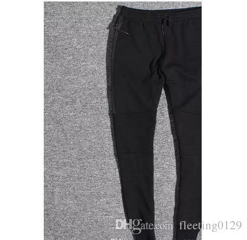 Горячие продажи Tech Flece спортивные брюки пространство хлопчатобумажные брюки мужские спортивные днища мужские пробежки Tech Flece Camo бегущие брюки 2 цвета