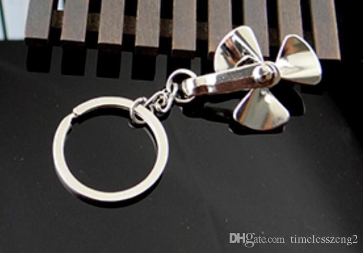 molino de viento creativa forma de llavero puede ser rotar el anillo de molino de viento tecla A wonderfu testigo de la pareja lovel pequeños regalos
