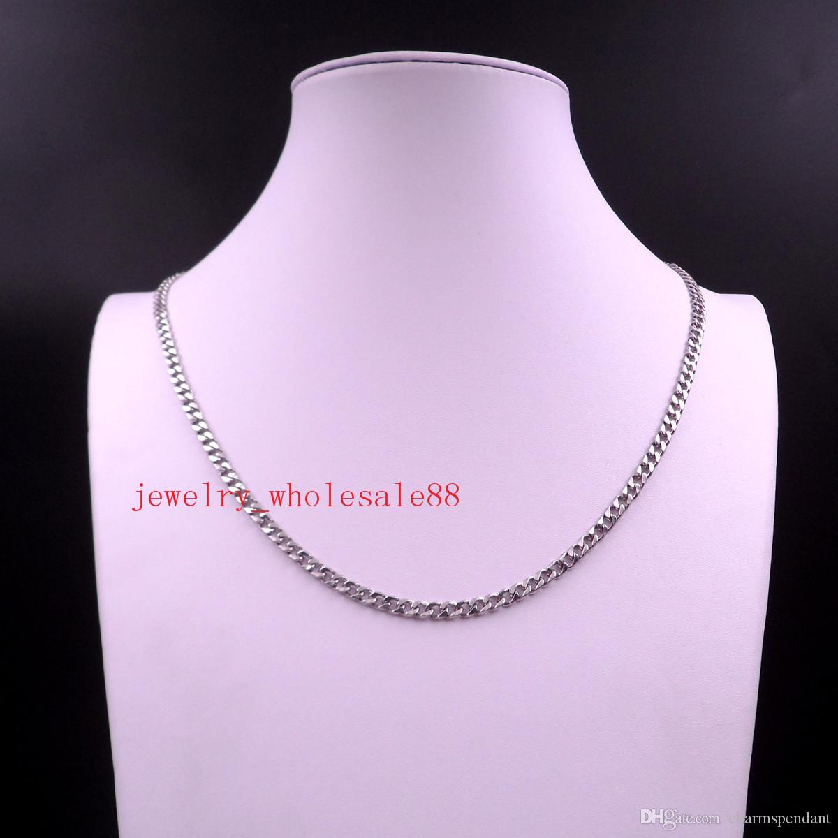 Large wholesale 100meter Silver TOne Stainless steel jewelry finding smooth thin 5mm Smooth Curb chain DIY Necklace Bracelet