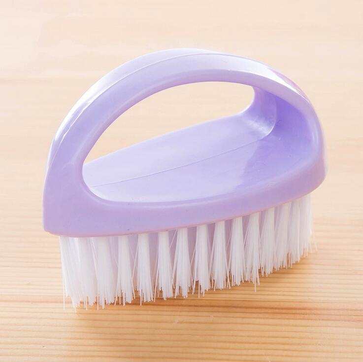 hand-held multi-purpose plastic washing brush clothes shoes brush candy-coloredlaundry cleaning brushes household cleaning tools