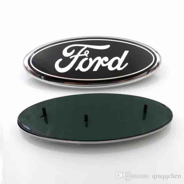 High Quality background 23*9cm Auto Car Emblem Badge ABS+Aluminum Hood Front Rear Trunk Logo for Ford Edge Explorer