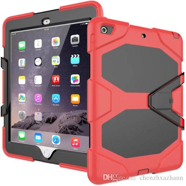 Tough RUGGED MILITARY DUTY Shock Proof Dirt Proof Armor STAND Case Cover For New iPad 2017 9.7 A1822 A1823