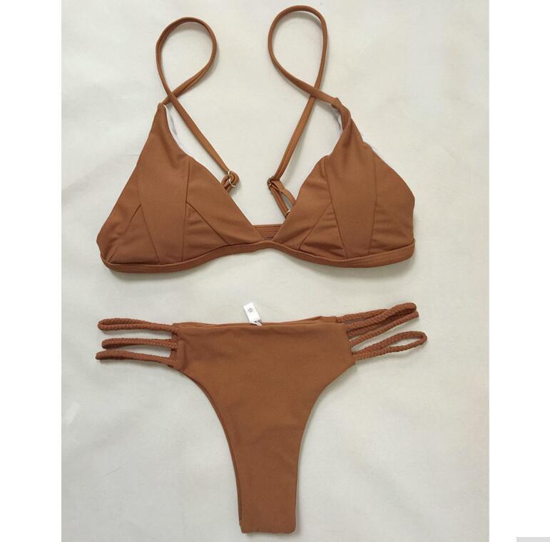 Wholesale 2017 Sexy Bikini Set Swimwear Women Bathing Suit Bikinis Beachwear Swimsuit Brazilian Biquini
