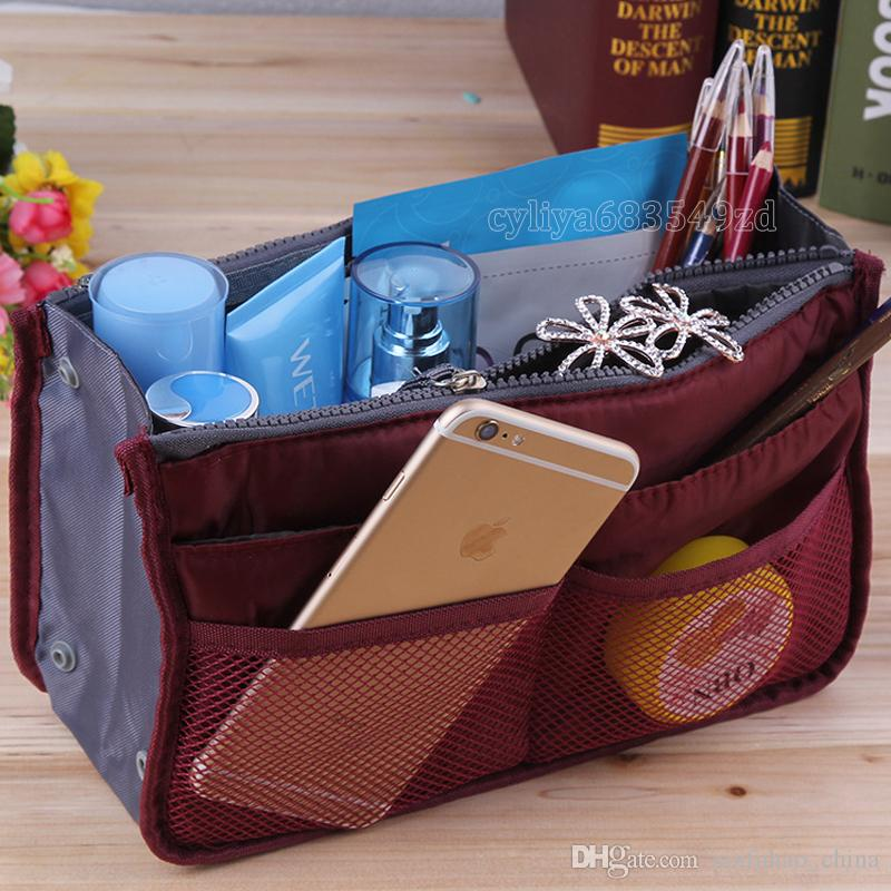 Universal Tidy Bag Cosmetic bag Organizer Pouch Tote Sundry Bag Home Storage Bags Travel Makeup Insert Handbag