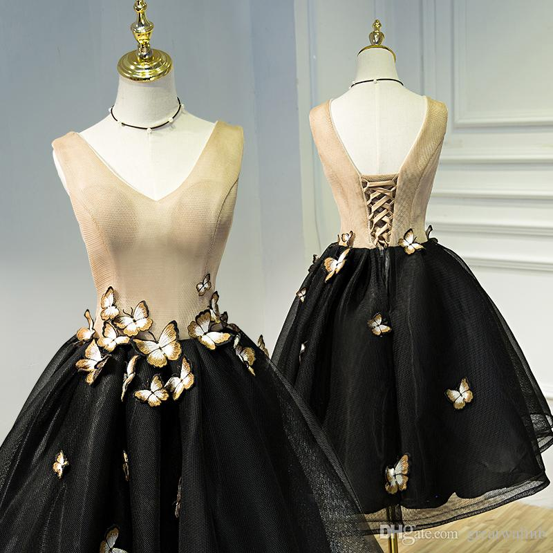 0715ad8706f44 100%real Short Ball Gown Butterfly Cosplay Medieval Dress Renaissance Gown  Costume Victorian  Marie Antoinette  Belle Ball Dress Halloween Themes For  Adults ...