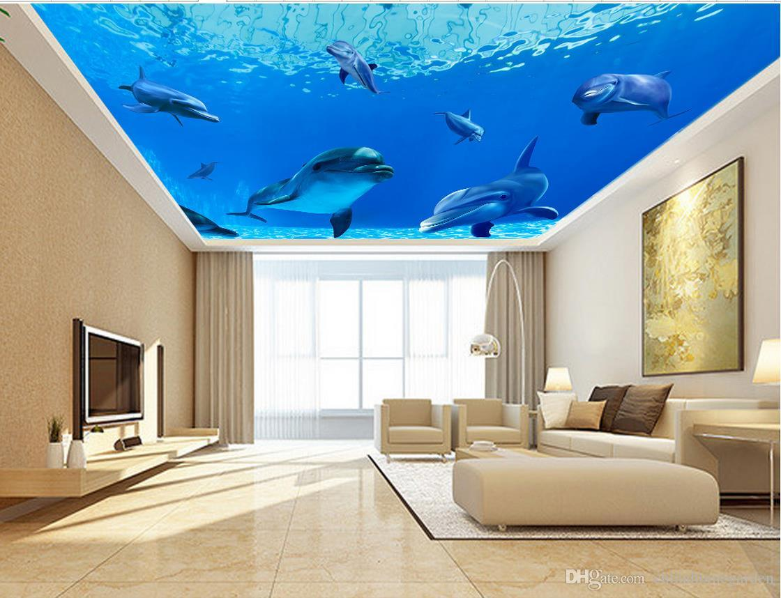 Blue Dream Underwater World Dolphin Ceiling Decoration