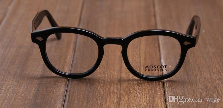 fb34f73f289 Moscot Lemtosh Black Small Eyeglasses Fashion Sunglasses Unisex Brand New  With Case Round Sunglasses Cheap Eyeglasses From Wige
