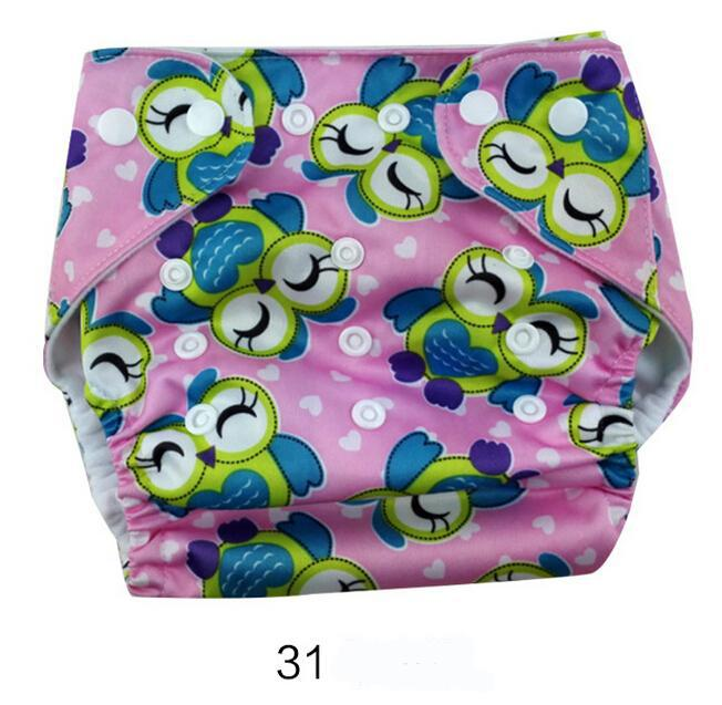 47 designs Baby Diapers TPU print waterproof diaper pocket washable Buckle without inserts breathable adjustable baby diaper cloth