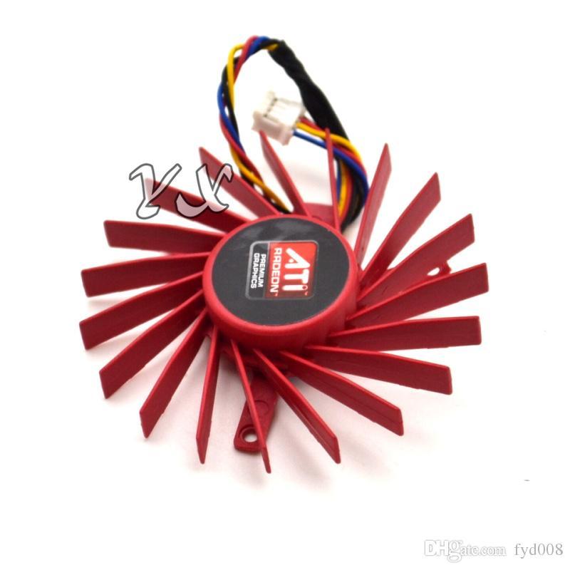 video card fanNew 4850 ATI HD4850 Graphics card fan 4850 HD4830 12V 0.40A 6cm diameter PLD06010B12HH
