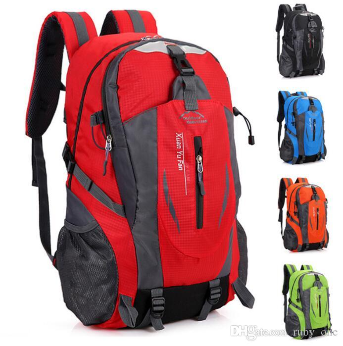 fec85943bc Hiking Backpack Travel Daypack Outdoor Sport Waterproof Backpack Camp Pack  Rucksack Men Women Travel Bag KKA3169 Toddler Backpacks Mens Backpacks From  ...