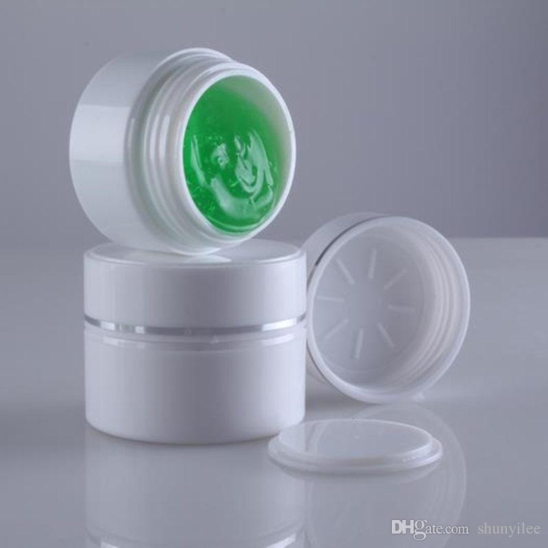 15G AS Double Layers Vuota vasetti cosmetici 30ml contenitore in plastica crema con coperchio trasporto veloce F20171036