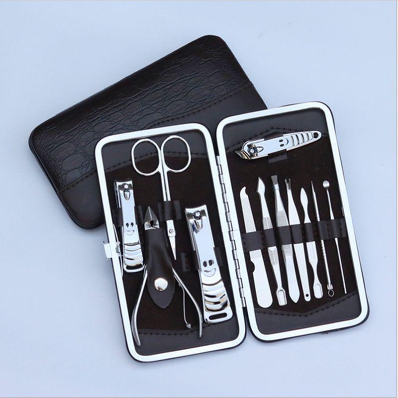 12 In Nail Clipper Kit Nail Care Sets Nails Art Beauty Tools ...