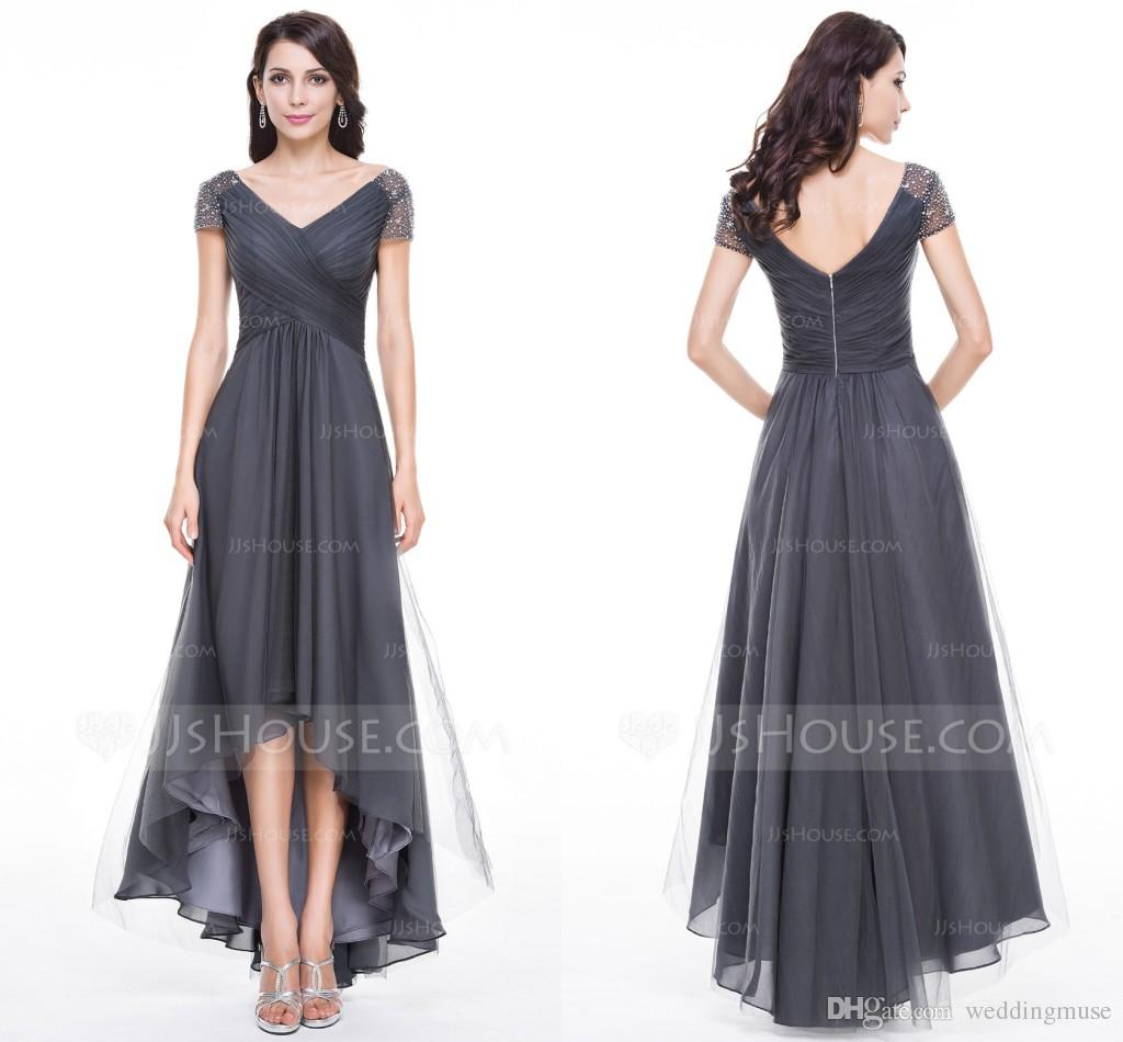 Grey Mother of the Groom Dresses