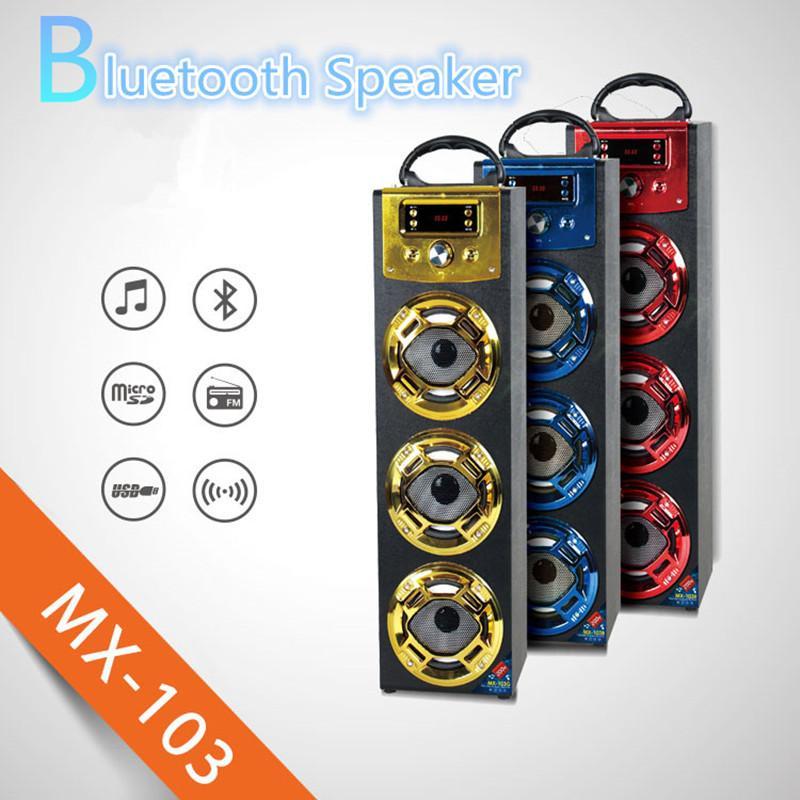 Wireless Bluetooth Speaker Mx103 Big Outdoor Bluetooth Speaker ...