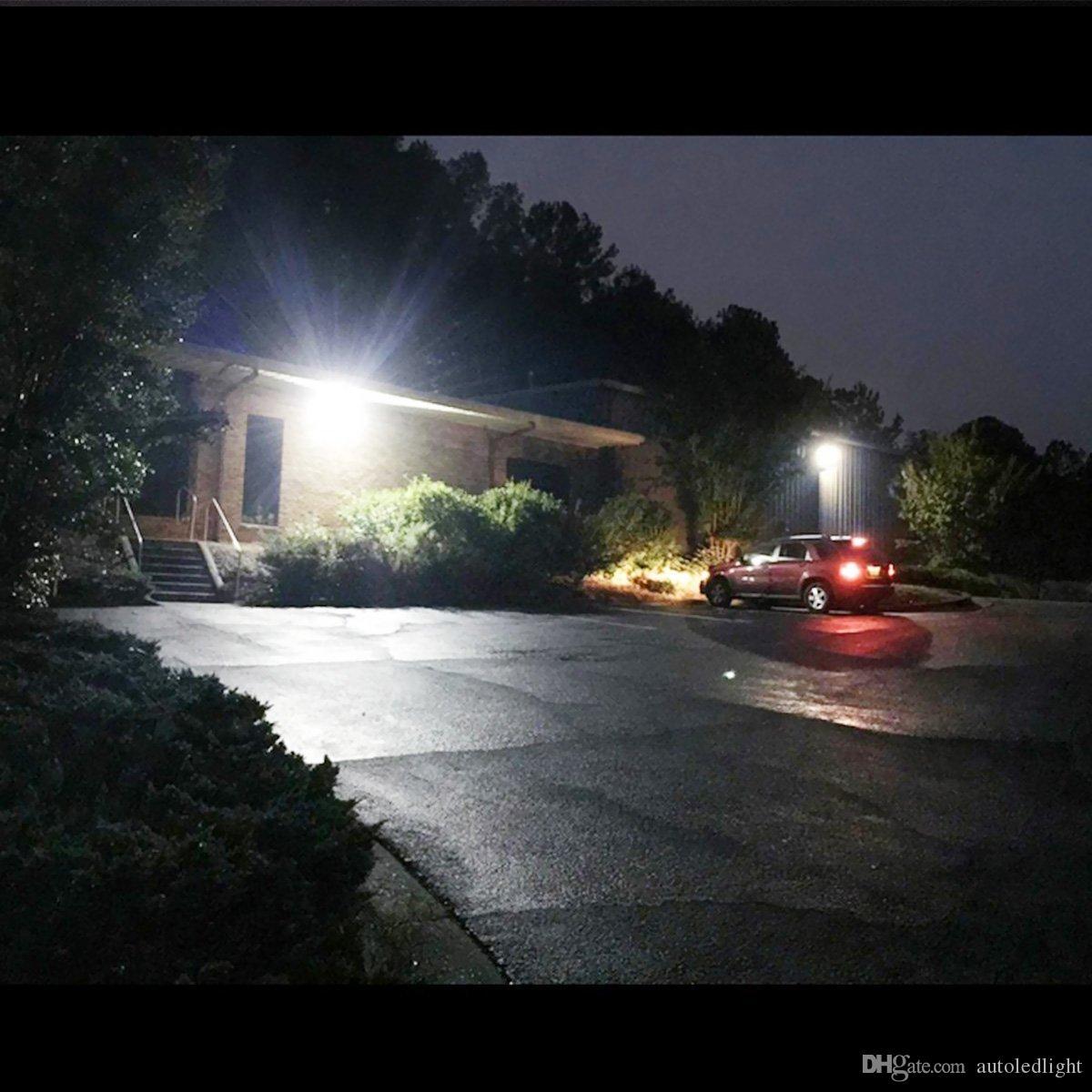 luces de inundación llevadas blancas ip65 EXTERIOR 150W / 200W IMPERMEABLE BOMBILLA LED BLANCO / CALIENTE LUZ DE INUNDACIÓN 220V AC