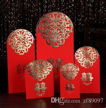 chinese wedding red envelope double happiness red envelope wedding