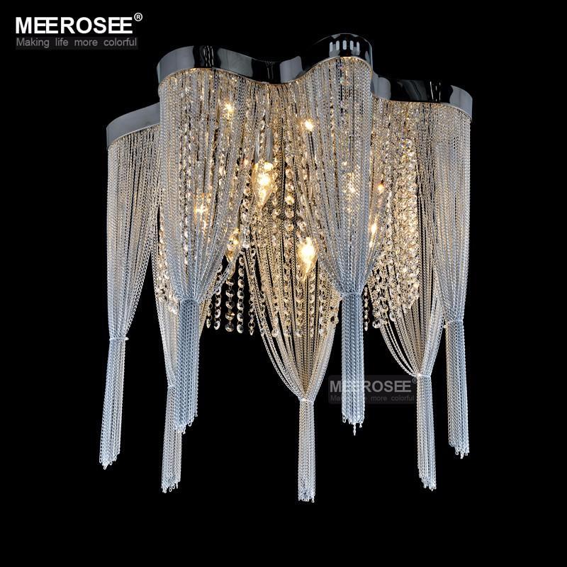 French Chain Chandelier Light Fixture Empire Vintage Hanging Suspension Res Lamp Lamparas De Techo Home Lighting Plastic