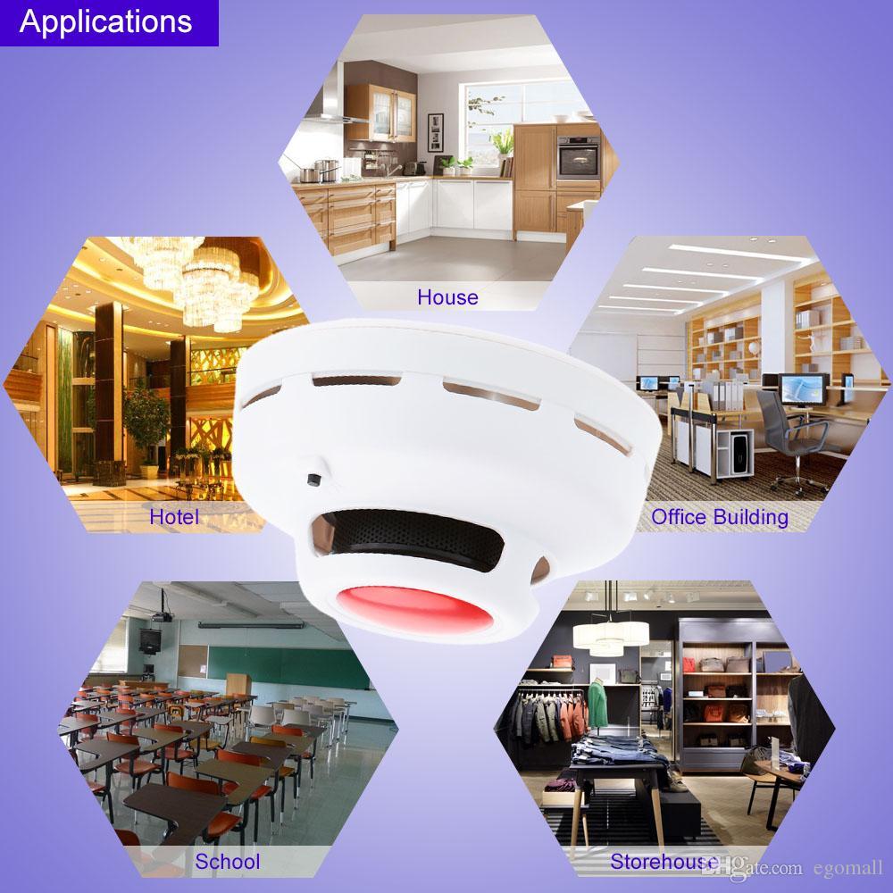 Home Security Stable Standalone Combination Carbon Monoxide Detector Test Gas Alarm Sensor High Sensitive CO & Smoke Detector