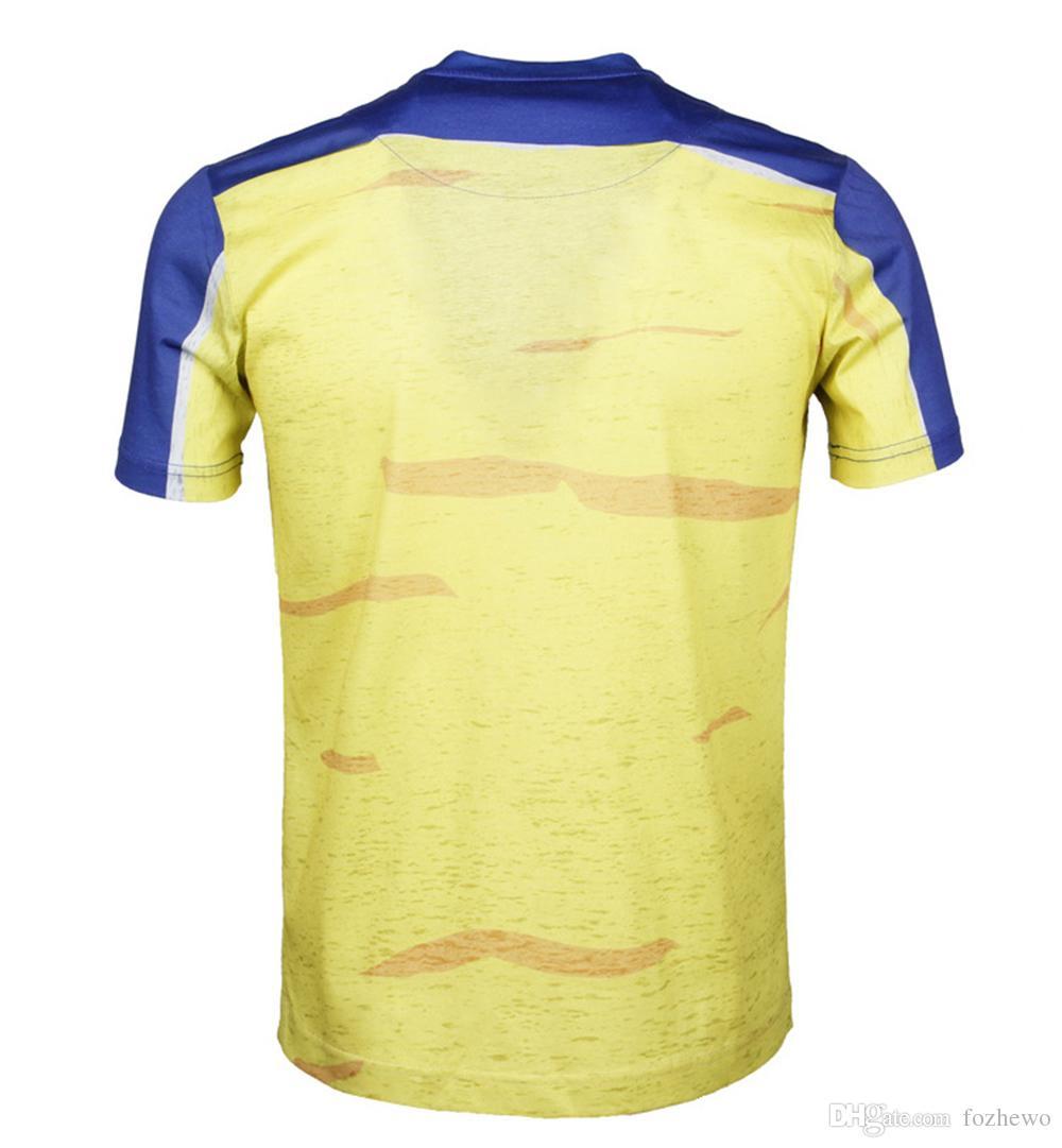 Nueva Moda Hombre camiseta 3d divertido estampado colorido cabello Rey León verano camiseta fresca calle desgaste tops tees