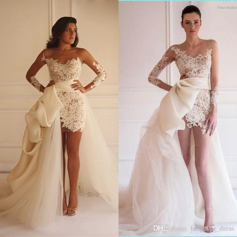Elegant pnina tornai mermaid wedding dresses with sleeves for Pnina tornai wedding dress cost