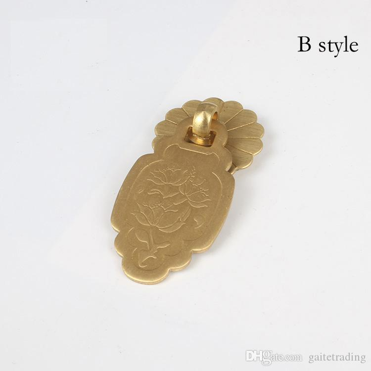 flower simple drawer knob furniture hardware wardrobe shoe closet door single hole handle round cone Retro cabinet pull