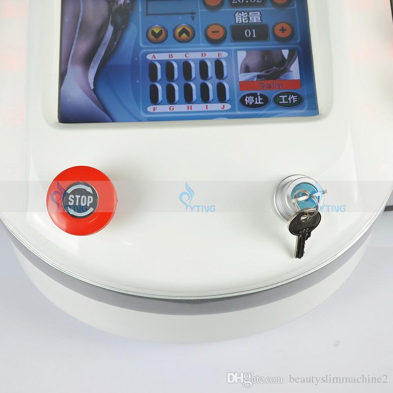 980nm Diode Lipo Laser 10 Podkładki Maszyna do spalania tłuszczowa Lasery odchudzające Urządzenie Cały Ciała Utrata Cellulitu Lipoliza Urządzenia Kosmetyczne System Beauty