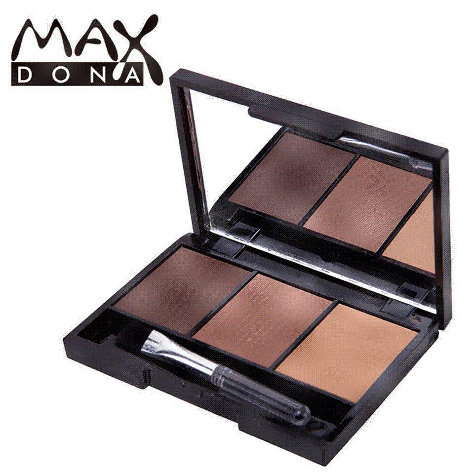 eyebrow powder. max eyebrow enhancer professional eye brow makeup powder shadow make up palette set kit f260 brushes online from bbb8, l