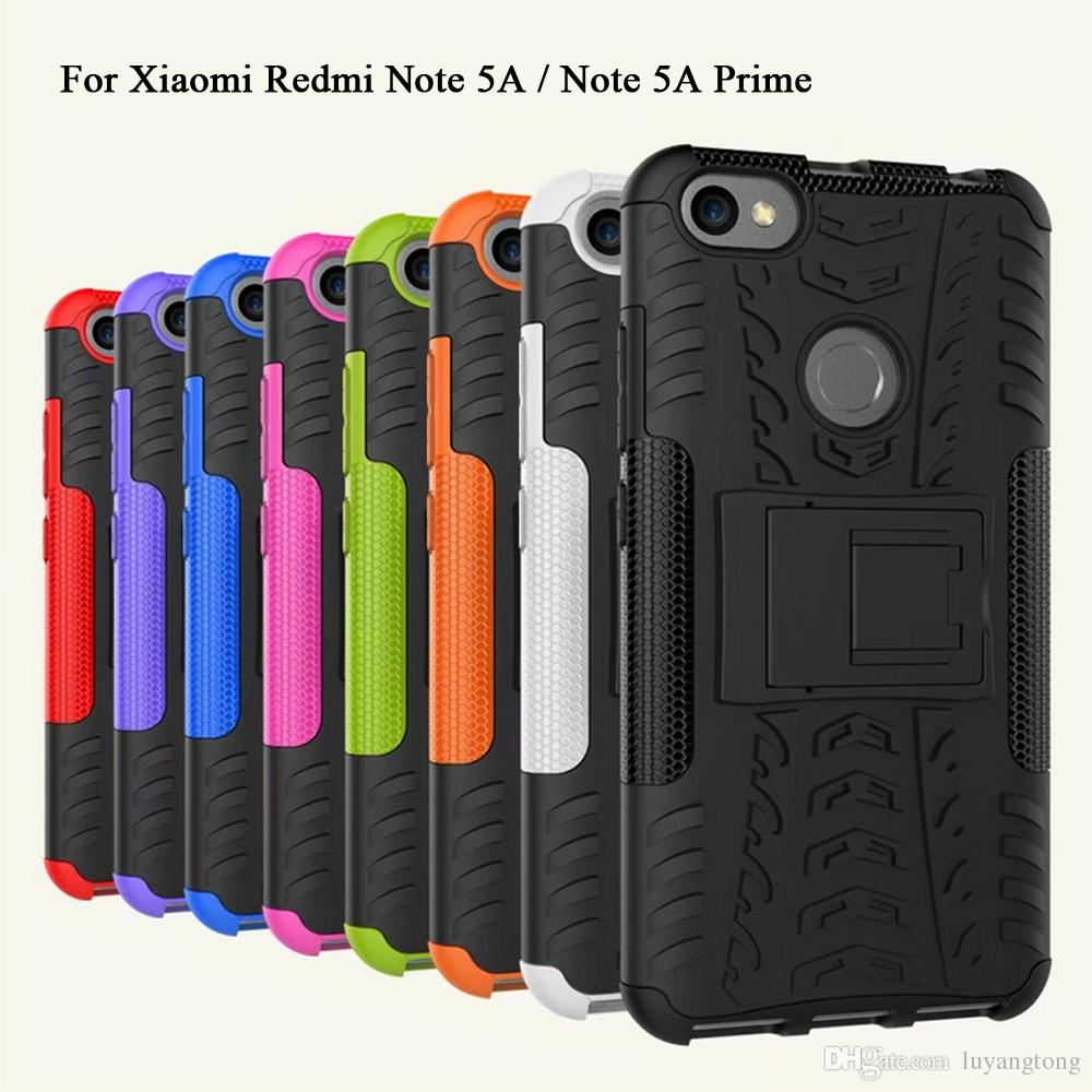buy popular 1dac8 7f0f5 Coque Xiaomi Redmi Note 5A Heavy Duty Armor Case For Xiaomi Redmi Note 5A  Prime Case TPU & PC Back Cover Note5A Pro Funda