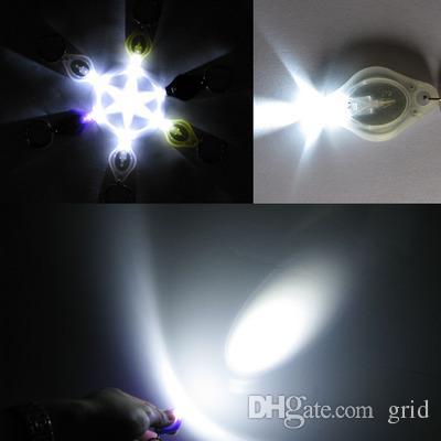 HOT SALE Torch Key Chain Ring PK Keyring White LED Lights,UV LED Light,ton II Photon 2 Micro Light LED Keychain Flashlight Mini Light