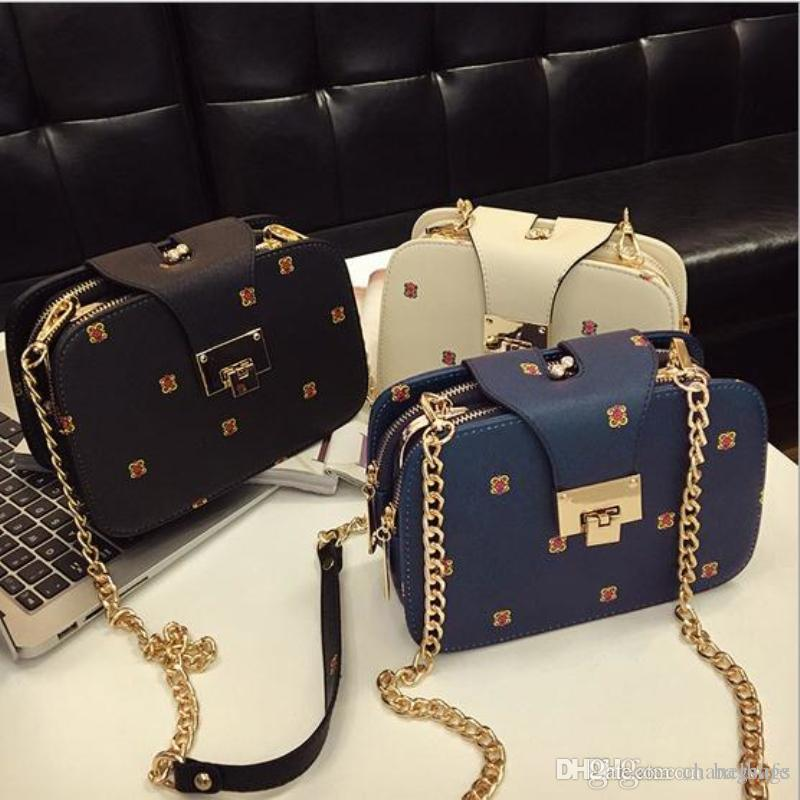 2017 Women Messenger Bags Women S Handbags Small Chains Designer Cute Lady S  Crossbody Bags For Women Italian Leather Handbags Luxury Handbags From ... 306660b7df