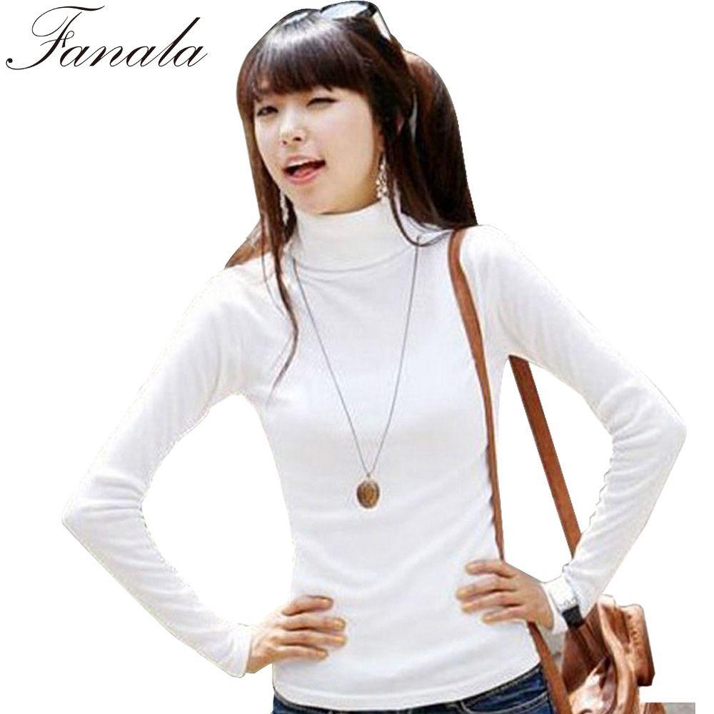 2017 Wholesale Fanala Cashmere Sweater Women Turtleneck Pullover ...