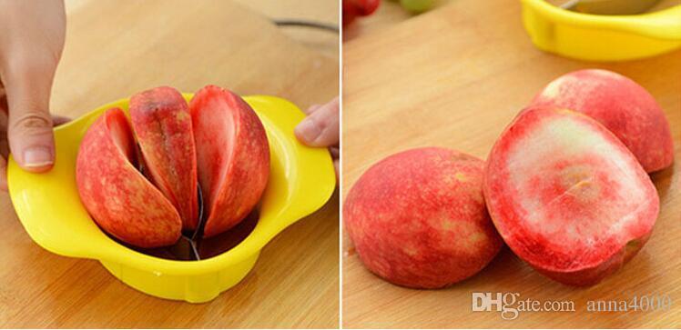 Pratique Mango Splitters Fruit Légumes Outil Corers De Pêche Peeler Shredder Slicer Cutter Gadget De Cuisine Accessoires Fournitures Produits