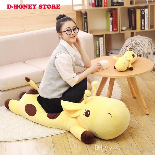 40 cm Zürafa bebek yastık peluş oyuncak peluche zürafa oyuncak hug dolması hayvan doll sevgililer kız dolması hayvanlar ücretsiz kargo